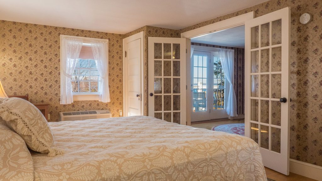 Willows king suite 829 at the Atlantic Oceanside Hotel in Bar Harbor, Maine