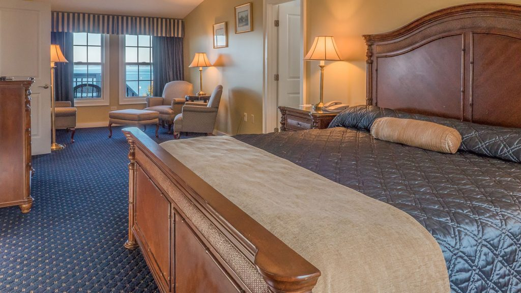 Room 831 in the Willows two-bedroom suite at the Atlantic Oceanside Hotel in Bar Harbor, Maine