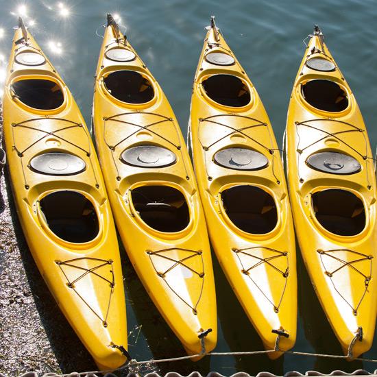 Kayak Tours at the Atlantic Oceanside Hotel in Bar Harbor, Maine