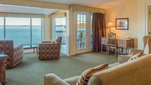 The Willows room 831 two-bedroom suite at the Atlantic Oceanside Hotel in Bar Harbor, Maine