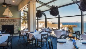 The Bistro at the Atlantic Oceanside Hotel in Bar Harbor, Maine