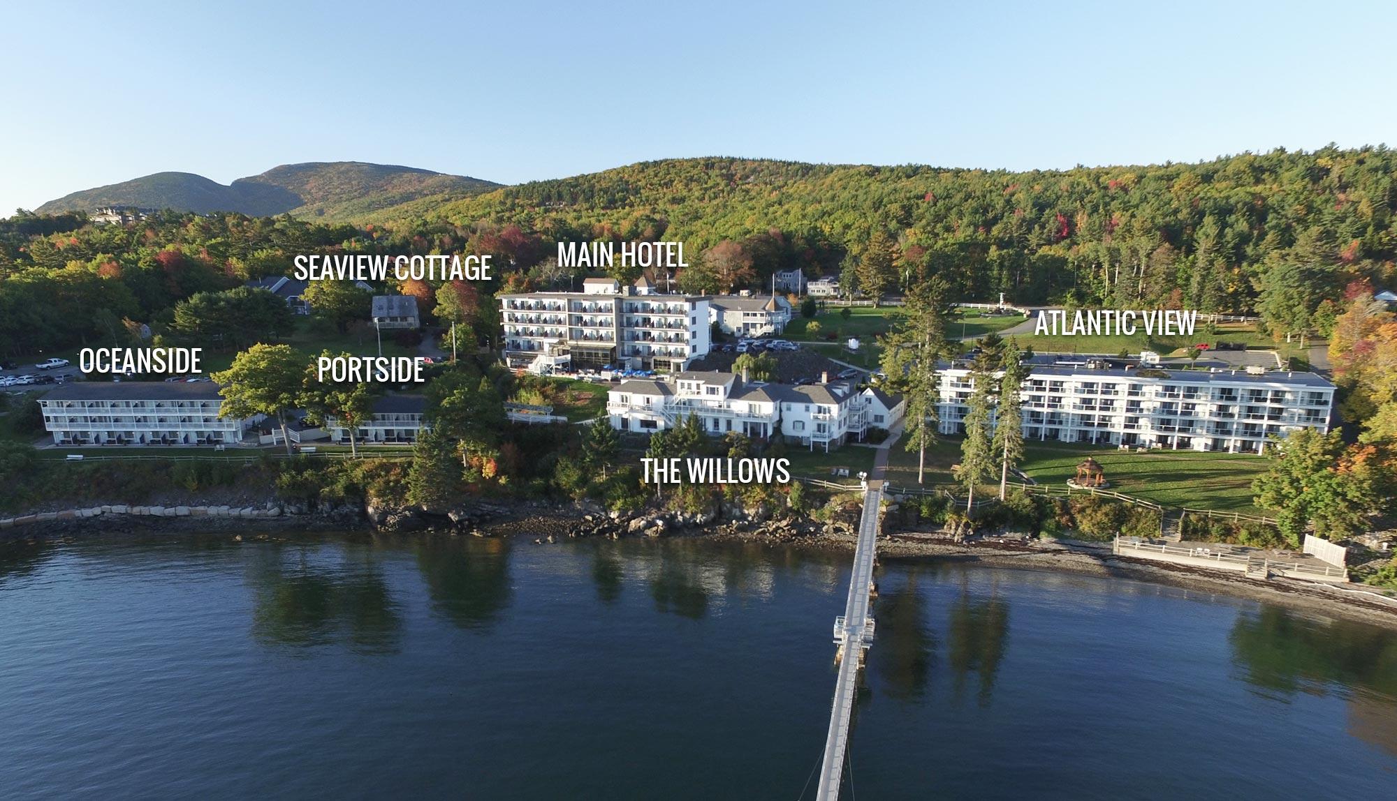 Accommodations | Bar Harbor, Maine Hotels | Atlantic Oceanside