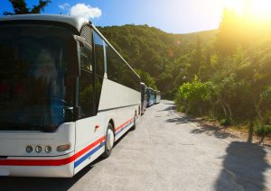 Bus tours are welcome at the Atlantic Oceanside Hotel in Bar Harbor, Maine
